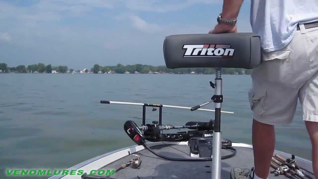 Venom Down Right Shallow Water Anchor Pole For Boats Youtube