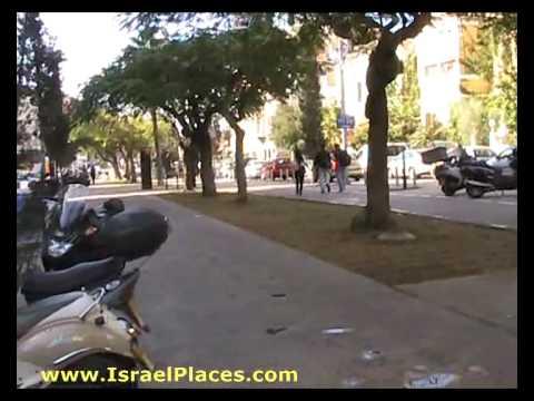 Israel Places - Rothschild Boulevard, Tel Aviv, Israel