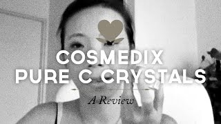 Pamela reviews Cosmedix Pure C crystals Thumbnail