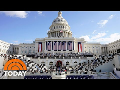 At Biden Inauguration, Inspiration And Unity Overcame Trepidation | TODAY