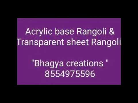 Order online acrylic rangoli designs