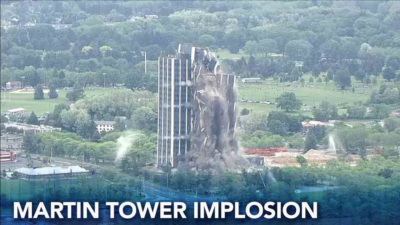 Martin Tower implosion: 'It couldn't go any better,' Bethlehem official says