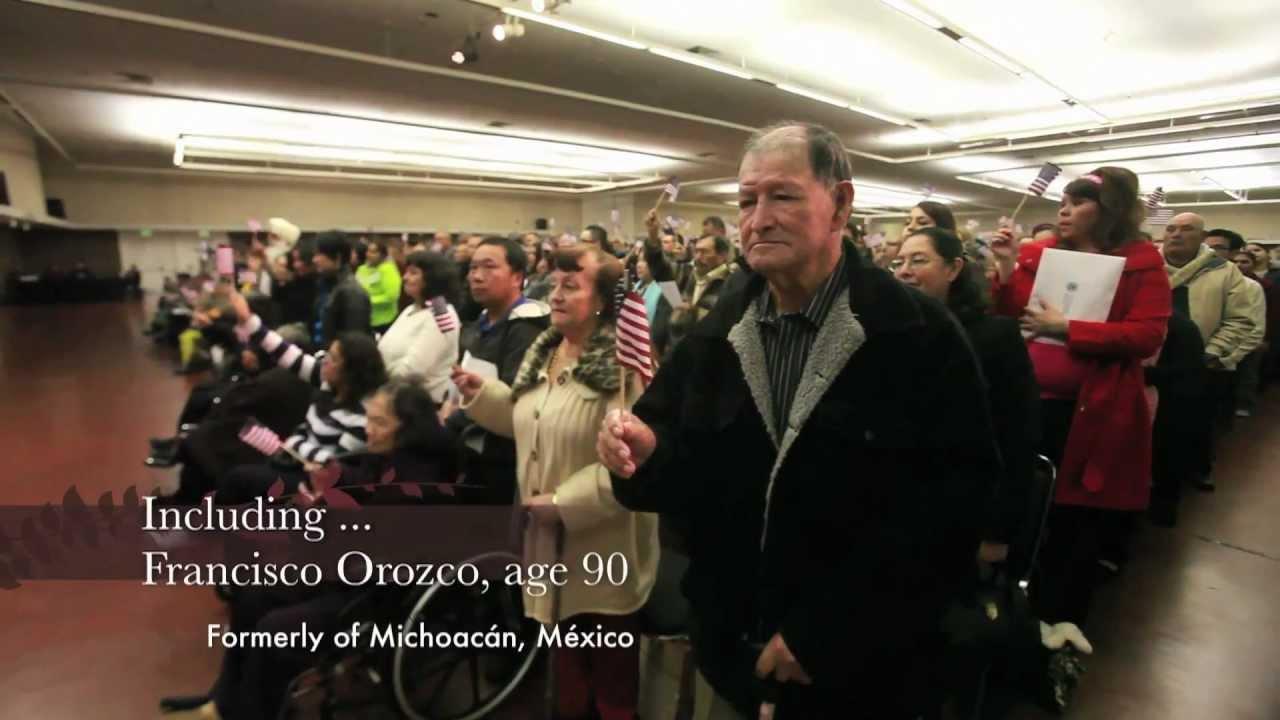 Naturalization Ceremony in Fresno  mov