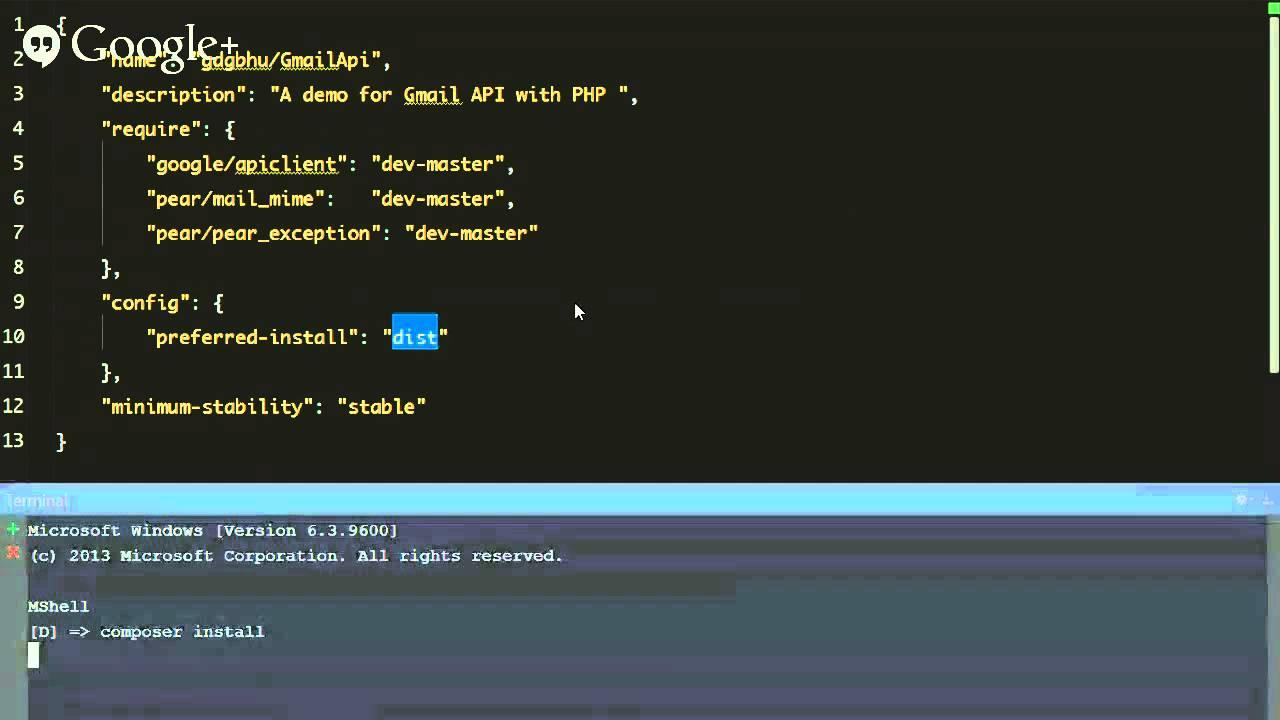 Introduction to GMail API