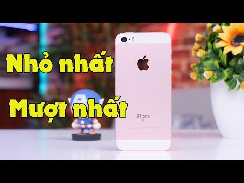 Smartphone NHỎ nhất và MƯỢT nhất hiện giờ còn dùng ổn - iPhone SE (2016)