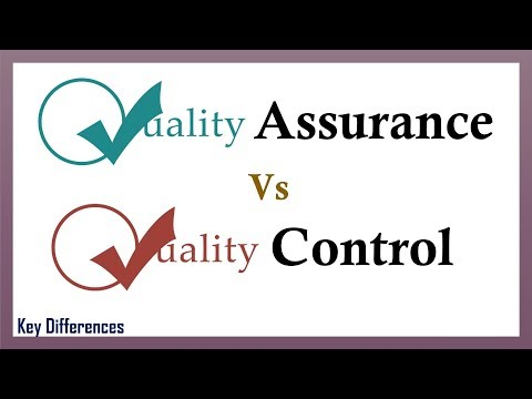 Quality Assurance Vs Quality Control: Difference between them with definition and comparison chart