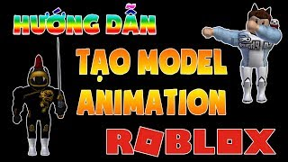 Guide to CREATING CUSTOM MODEL-POSE MODEL (ANIMATION) in ROBLOX STUDIO