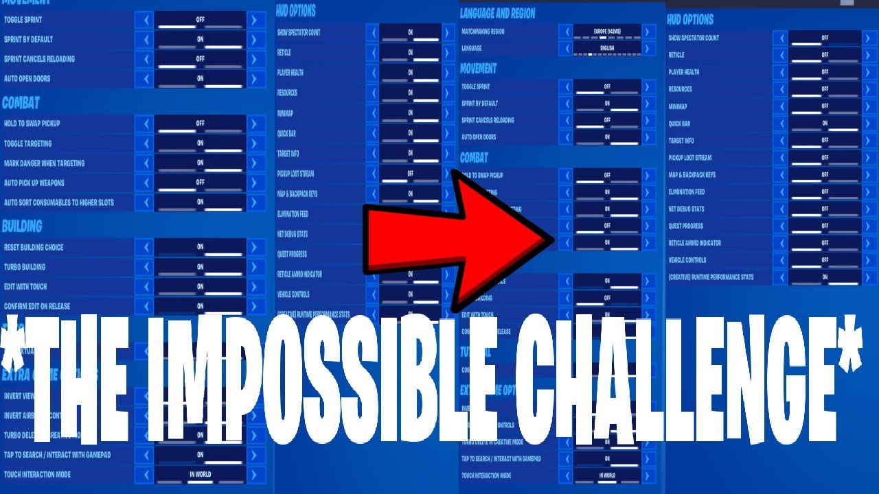 *THE IMPOSSIBLE CHALLENGE*-Fortnite battle royale season 3 chapter 2