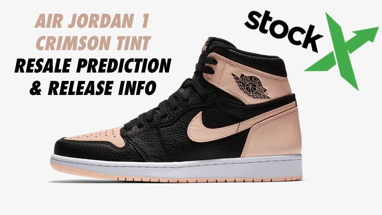 eede16f323c Air Jordan 1 Retro High OG Crimson Tint Resale Prediction - YouTube