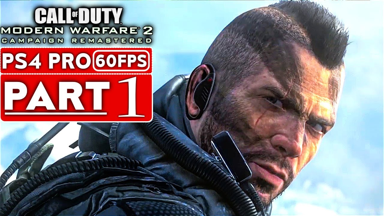 Call Of Duty Modern Warfare 2 Remastered Gameplay Walkthrough Part