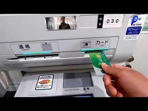 Hướng Dẫn Cách Chuyển Khoản Thẻ ATM ở Nhật
