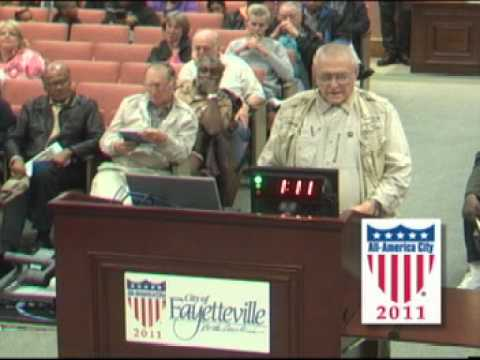 Fayetteville City Council Meeting February 27, 2012