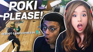 POKIMANE CLUTCHES THE REVIVE! FUNNY DUO GAMEPLAY