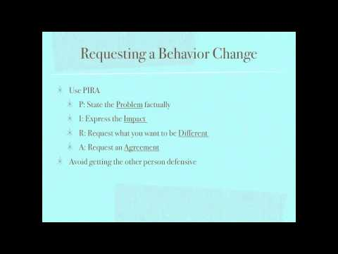 Stress Management & Conflict Resolution