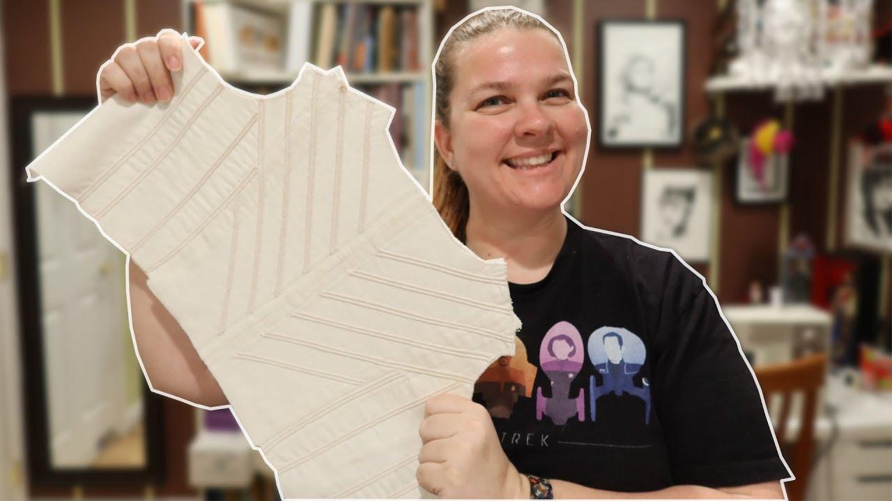 Sewing Regency Short Stays, Pt 1 || Corset-Making