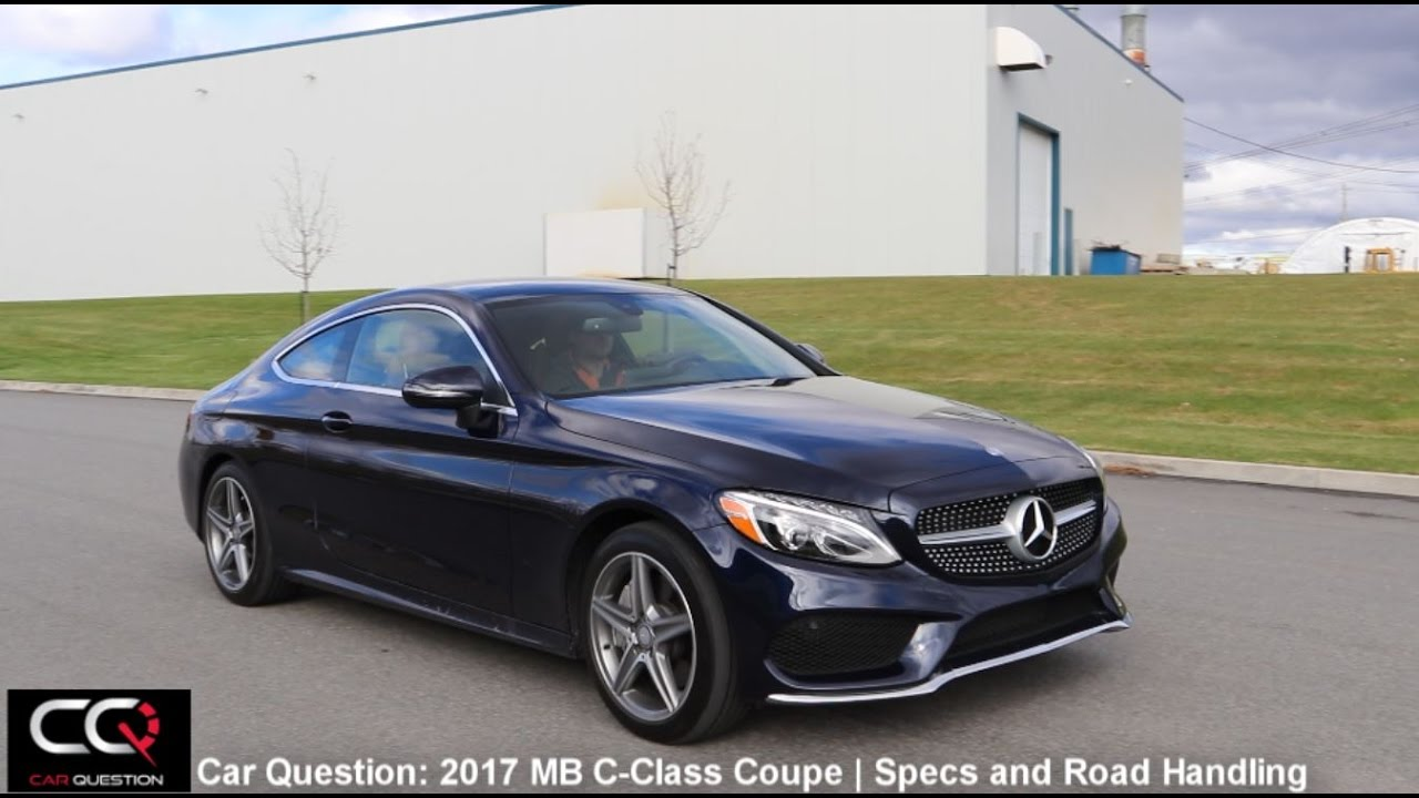 2017 mercedes benz c class coupe specs and test drive the most complete review part 3 7 - S class coupe dimensions ...