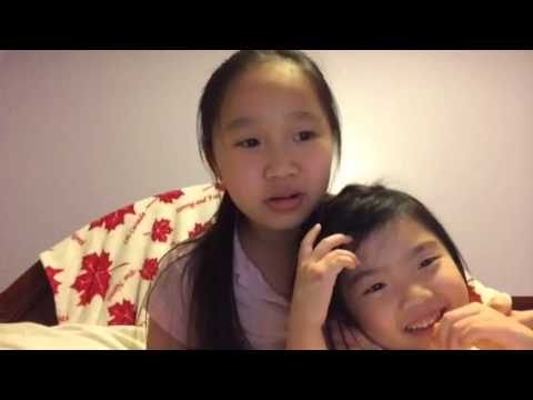 Fun Asian language challenge with my cousin daughter