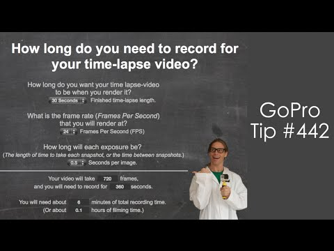 Time - Lapse Calculator - GoPro Tip #442 - YouTube