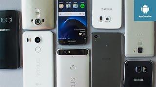 Mejores teléfonos para comprar en 2017. Cámara/Calidad/Precio/Batería ®.