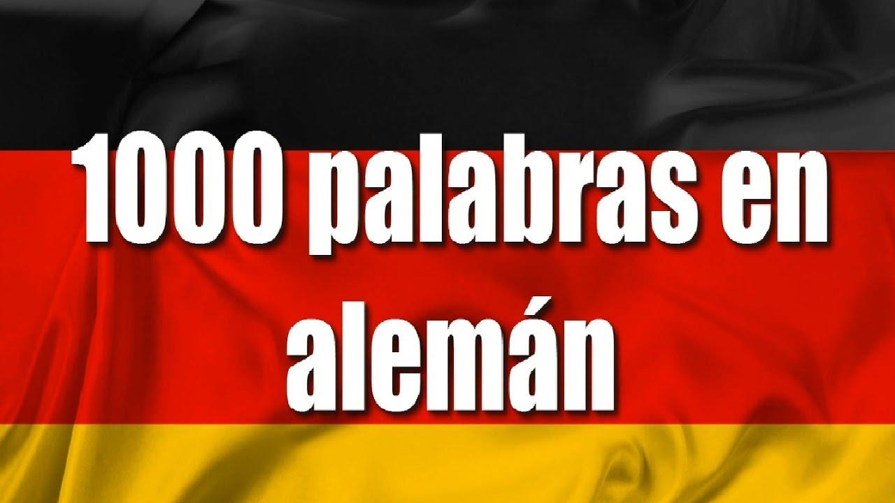 Cursos De Alemán 1000 Palabras En Alemán Para Principiantes Saludos Y Expresiones Parte 1