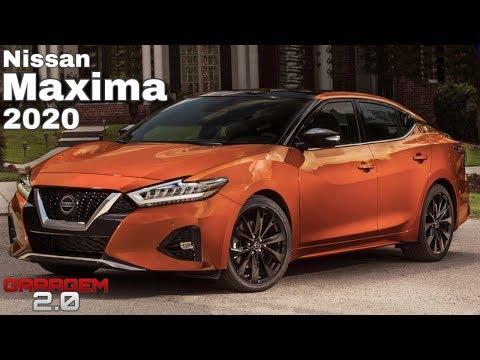 Novo Nissan Maxima 2020, O Sedan De Luxo da Marca - (Garagem 2.0)