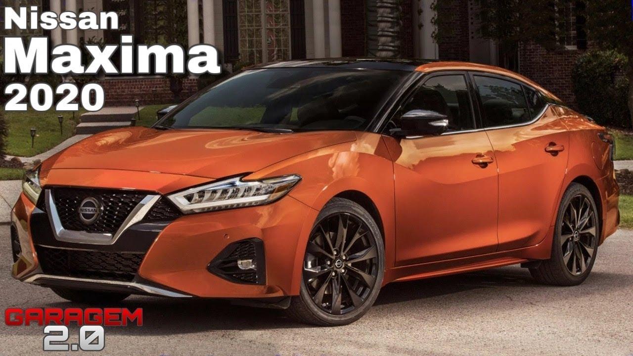 novo nissan maxima 2020, o sedan de luxo da marca