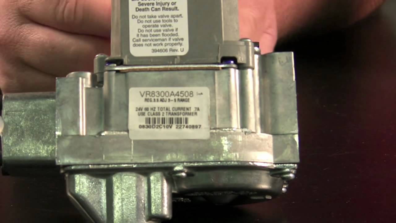 hight resolution of hvac tech school replacing gas valves on furnaces and water heaters youtube
