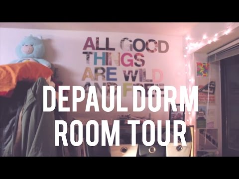 DORM ROOM TOUR: DEPAUL UNIVERSITY