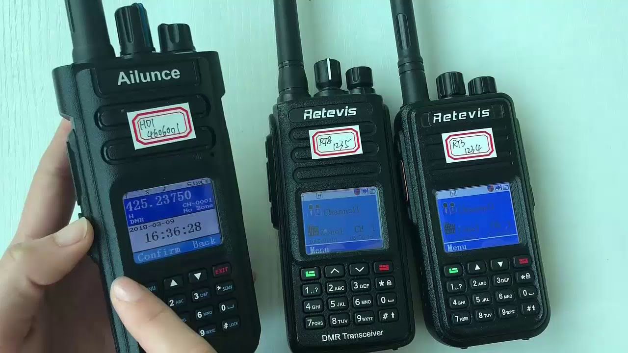 Ailunce HD1 & Retevis RT3 Private Call