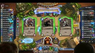 Taunt Warrior vs Even Hagatha Shaman - Hearthstone