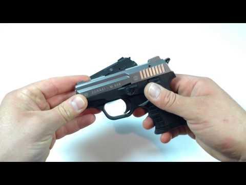 Zoraki M906 Gas Schreckschuss Pistole schwarz & titan
