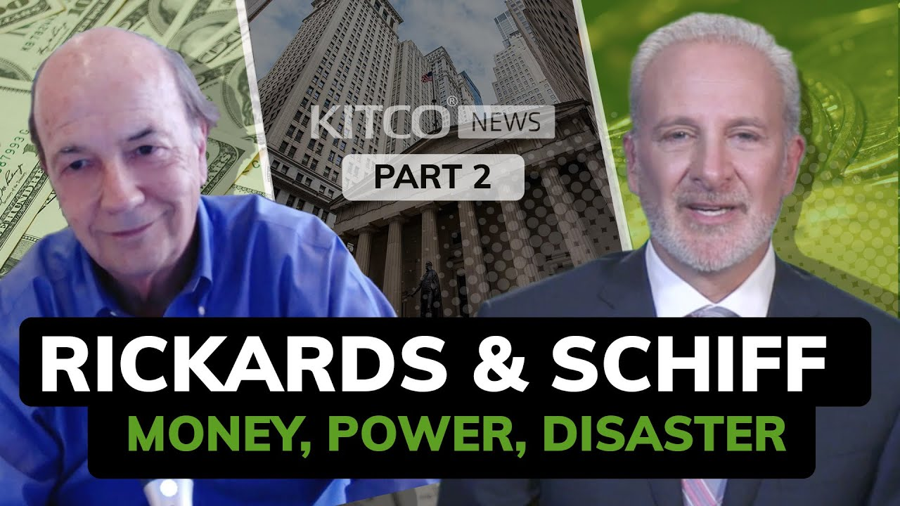 Rickards and Schiff warn about the coming monetary collapse (Part 2/3)
