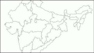 Short trick के माध्यम से भारत का नक्शा भरने का सबसे बढ़िया तरीका, India map short trick
