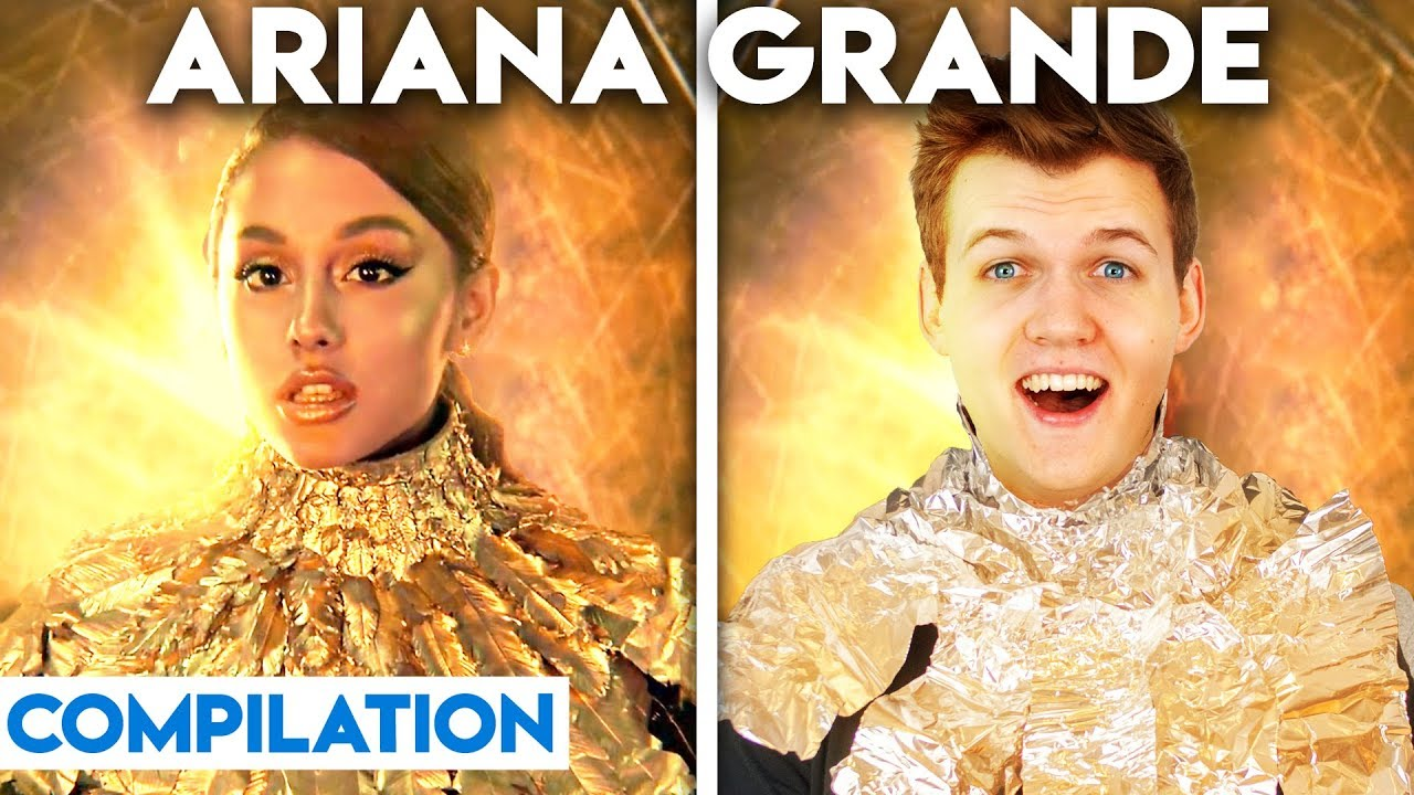 Download ARIANA GRANDE WITH ZERO BUDGET! (BEST OF COMPILATION BY LANKYBOX!)