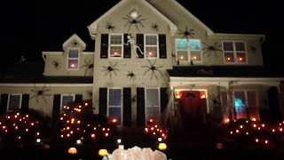 haunted halloween house trunk or treat rafs 2017 spiders skeletons atmosfearfx digital decorations