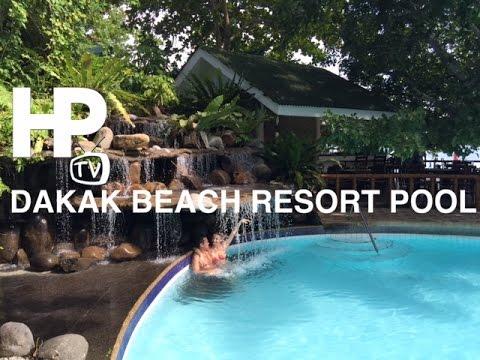 Dakak Park Beach Resort Pool Slides Zamboanga Del Norte Mindanao