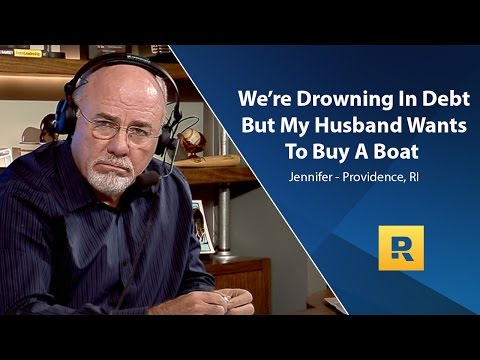 We're Drowning In Debt But My Husband Wants To Buy A Boat