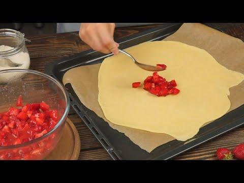 клубничный пирог рецепт в домашних условиях