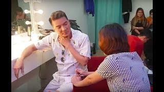 Đàm Vĩnh Hưng, Nguyễn Quang Dũng, Ngô Kiến Huy hài hước sau cánh gà Giọng ca bất bại