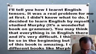 Как я учил английские времена  Мой опыт изучения английских времен