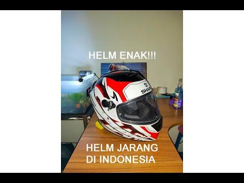 REVIEW HELM SHARK SPEED R YANG JARANG ADA DI INDONESIA