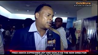 ACTOR FRED AMATA EXPRESSES JOY AND GOALS AS THE NEW DIRECTOR OF ABUJA FILM FESTIVAL