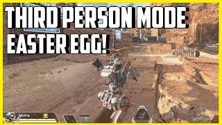 Apex Legends Third Person Mode Easter Egg Found! - How To Do It!