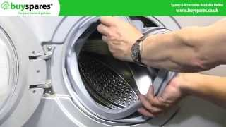 How to Replace a Washing Machine Door Seal (Samsung)