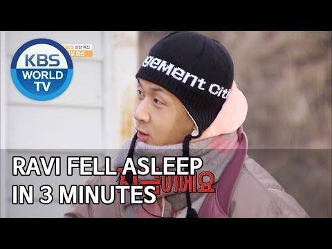 Ravi Fell Asleep In 3 Minutes [2 Days & 1 Night Season 4/ENG/2020.02.16]