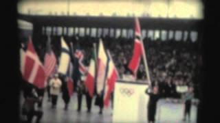 1952 Winter Olympics in Oslo, Norway -- Opening Ceremonies.