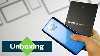 Huawei Mate 20 Pro Unboxing -  Lovely Blue Color
