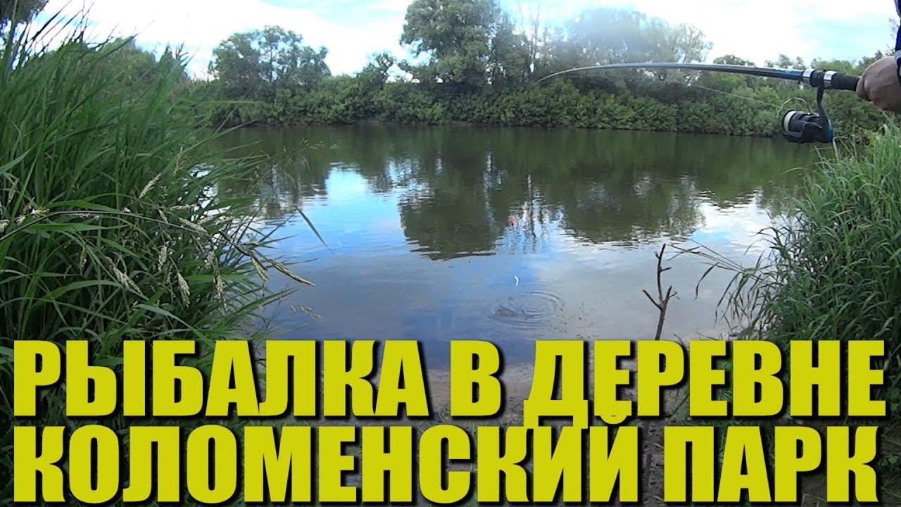 Рыбалка в деревне. Обзор Коломенского парка. Лето