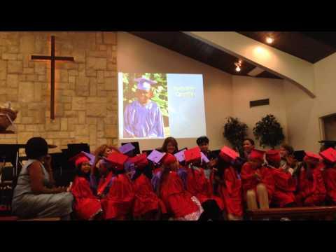Orlando Day Nursery kindergarten slide show and graduation poem 2014