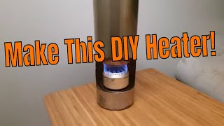 DIY Heater for Teardrop/ Van/Tent- Off Road Camping Expedition Overland Trailer-